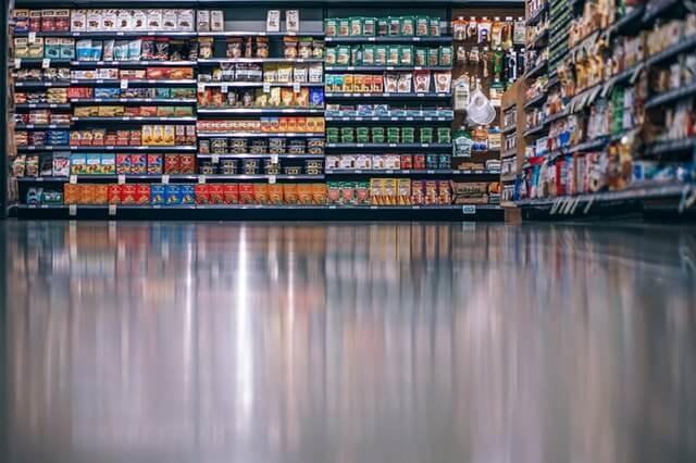 並べられたスーパー